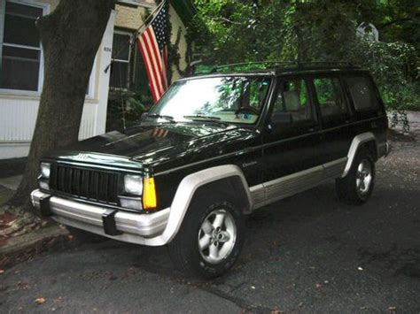 Jeep Country Edition Buy Used 1996 Jeep Quot Country Quot Edition In Green And