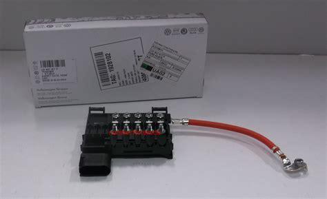 skoda octavia battery genuine skoda octavia mk1 1u battery fuse box 1j0937617d