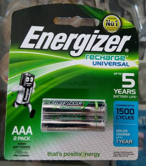 Promo Battery Energizer Baterai Batre A2 Aa Rechargeable Original 20 battery rechargeable aaa a3 energizer recharge 700mah