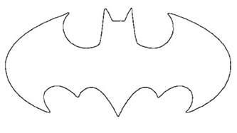 batman symbol template pin printable batman symbol template on
