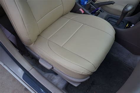 Toyota Camry Seat Covers Toyota Camry 1997 2001 Iggee S Leather Custom Fit Seat