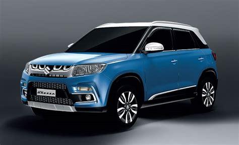 Maruti Suzuki Rates Maruti Vitara Brezza Launched In India Inr 6 99 Lakh