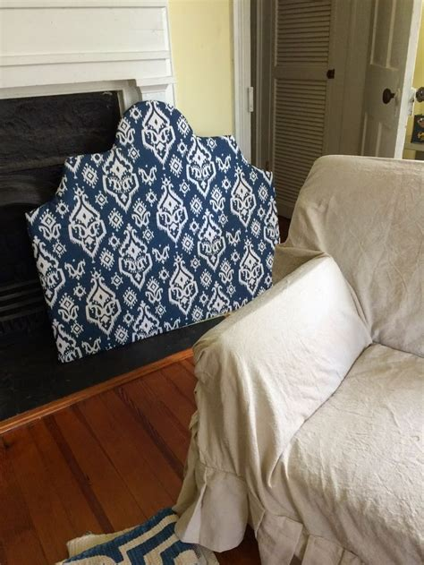 batting for headboard headboard from plywood batting fabric and a staple gun
