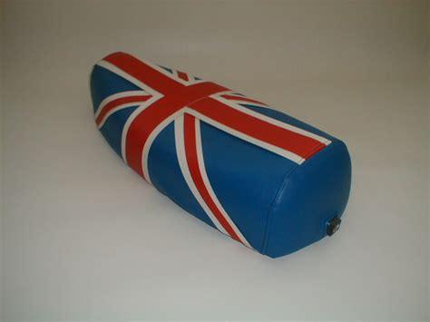 Vespa Union Wheel Shape Bag vespa px union flag design seat cover p k trim