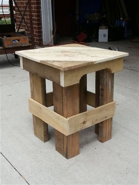 end tables made from pallets appreciating ideas for a pallet end table 101