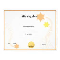Blank Certificate Templates Blank Award Certificate Templates Bing Images