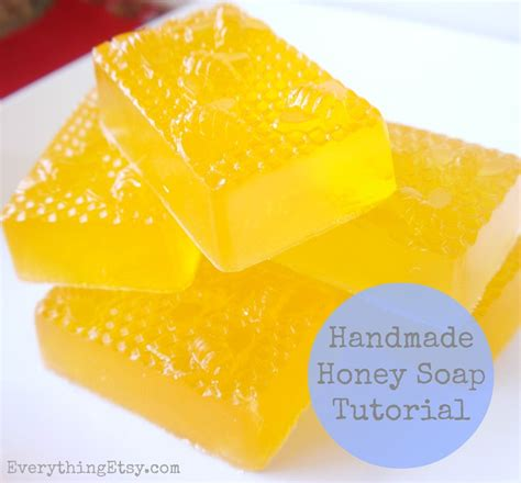 Handmade Soap Etsy - diy gift handmade honey soap tutorial