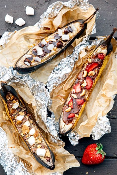 banana boat over fire 25 best ideas about cfire banana boats on pinterest