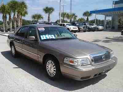 how to sell used cars 2006 mercury grand marquis seat position control find used 2006 mercury grand marquis ls in palm harbor florida united states