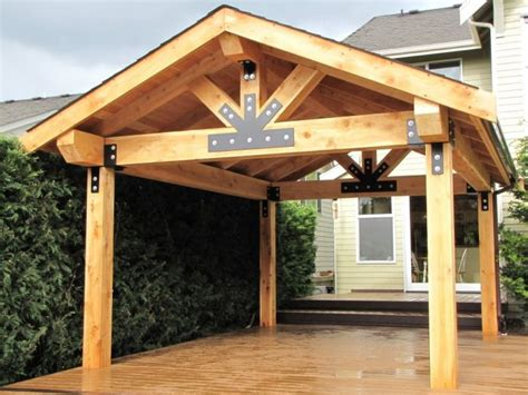 covered patio addition lift it even custom welded and