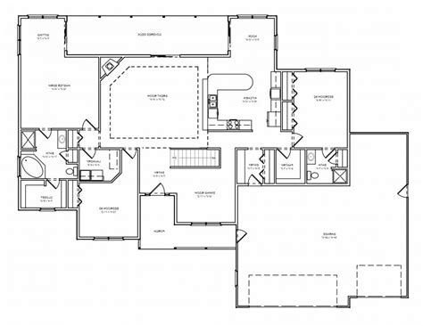 hennessey house 7805 4 bedrooms and 4 baths house plan with photos