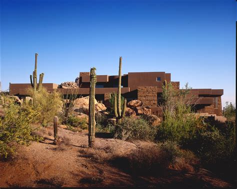 contemporary desert house home designs