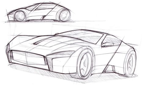 Auto Zeichnung by Cars By Dk Typical Car Sketches