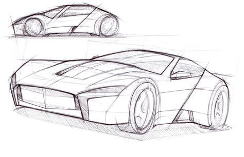 car drawing isometric drawings