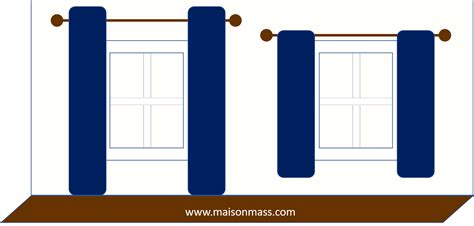 how low should curtains hang 8 ways to fix a home with low ceilings maison mass