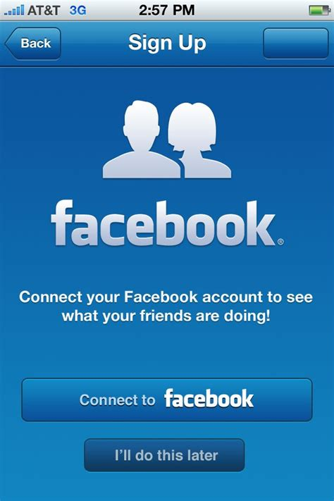 fb login on mobile mobile login design ui