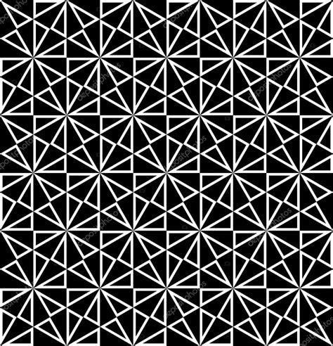pattern black and white modern vector modern seamless sacred geometry pattern polygon