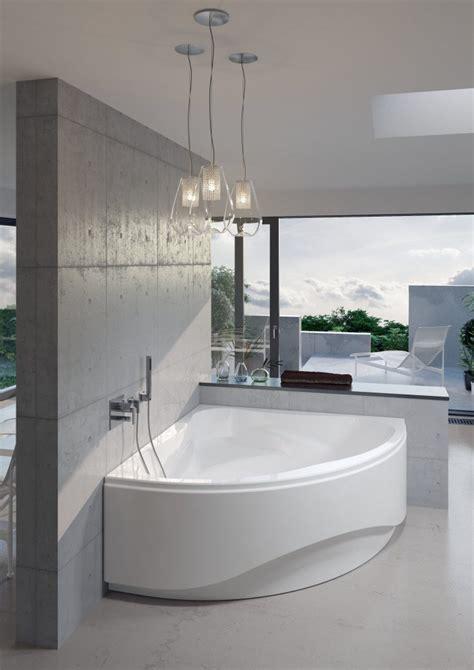 bagno con vasca ad angolo vasca da bagno ad angolo