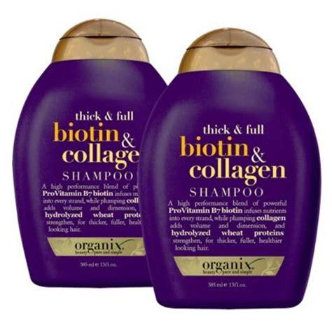 organix ogx thick full biotin collagen shoo conditioner organix thick full biotin collagen shoo reviews