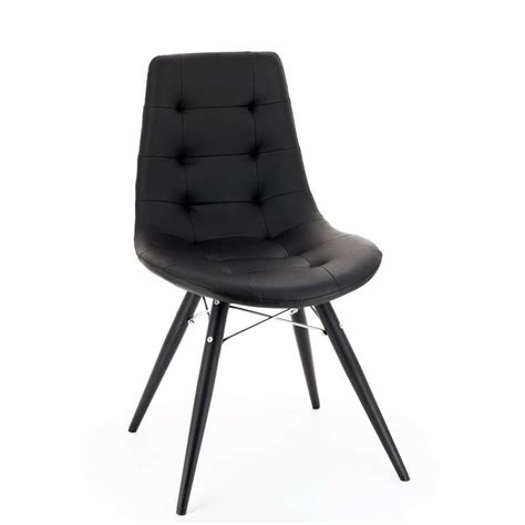 chaises noir chaise moderne ou grise 4 pieds tables