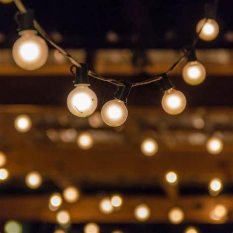 black and light festoon lights black cable diy wedding shop