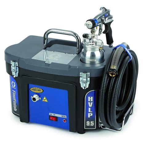 graco hvlp turboforce 9 0 hvlp sprayer from spraydirect co uk