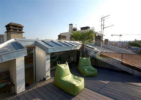 Ouverture Toiture Terrasse by Am 233 Nagement De Combles Et Cr 233 Ation D Une Toiture Terrasse