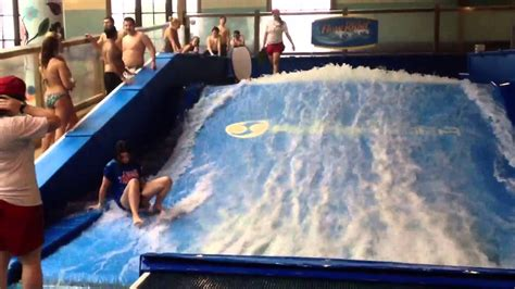 Soaring Eagle Water Park Girls Really Good At Surfing Then ...