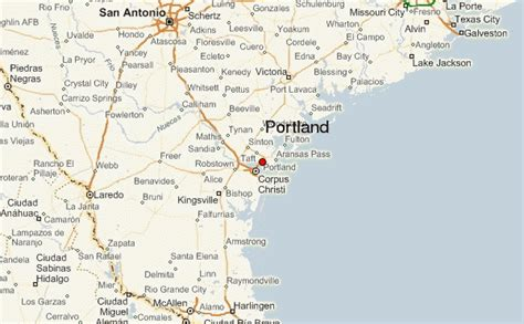 portland texas map portland texas location guide