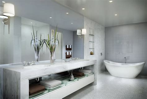 Modern White Bathroom Ideas by Modern Bathroom Floor Tile D S Furniture