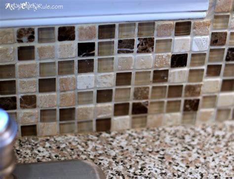 do it yourself kitchen backsplash kitchen tile backsplash do it yourself artsy chicks rule