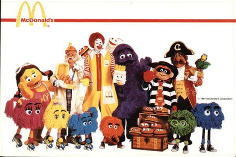 Mcdonalds E Gift Card - mcdonald s characters modern 1970 s to present