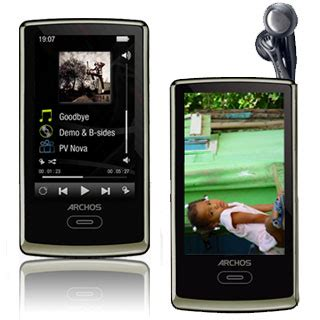 Archos Pmp Thats Portable Media Player To The Uninitiated by Archos Unveils Archos3 Portable Media Player Techgadgets