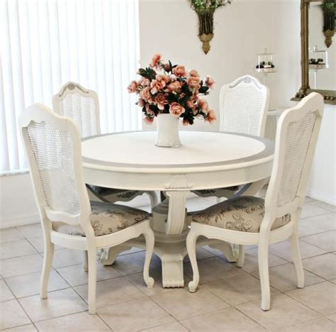 shabby chic dining table sets 20 ideas of shabby chic dining sets dining room ideas