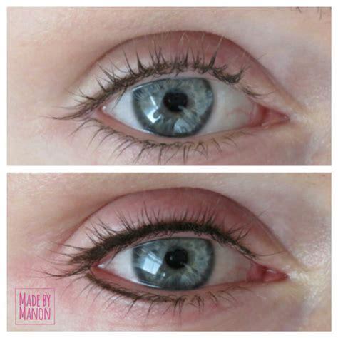 Eyeshadow Zetten voor en na foto s eyeliner permanente make up