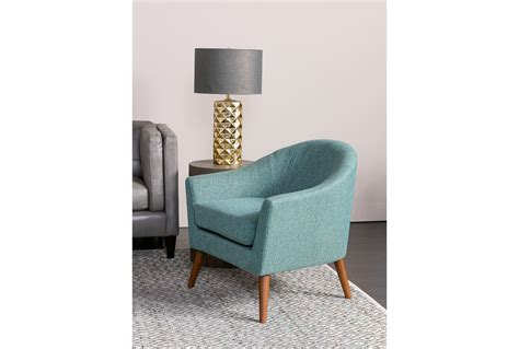 Living Spaces Accent Chairs Finn Teal Accent Chair Living Spaces
