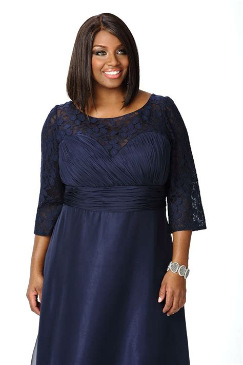knee length  cocktail length navy  size
