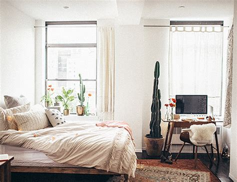 new york bedroom at home in new york city sfgirlbybay