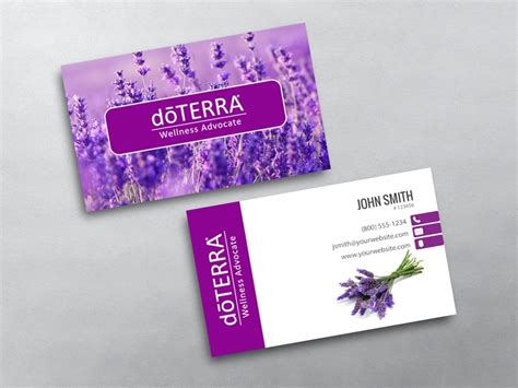 doterra business card template doterra business card template images
