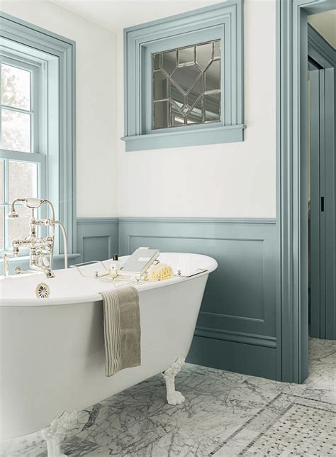 beautiful bathroom paint colors salle de bain color 233 e 55 meubles carrelage et peinture