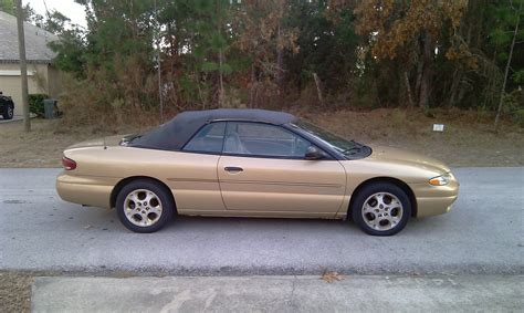 1996 chrysler sebring convertible picture of 1996 chrysler sebring 2 dr jx convertible exterior