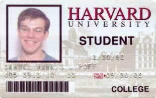 novelty id template harvard id novelty id card template student international