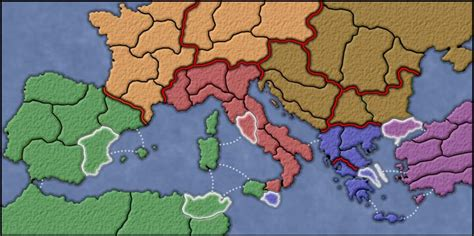 Punic Wars Map