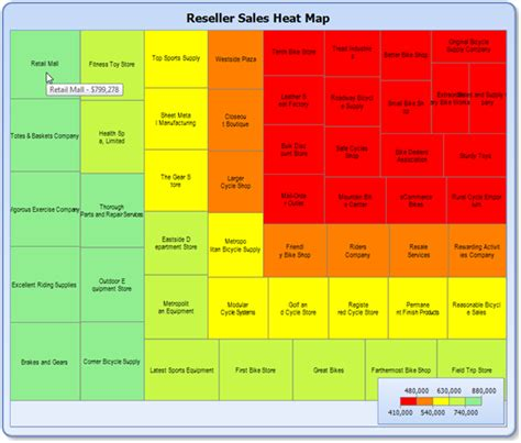 heat maps prologika heat maps as reports