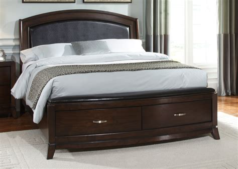 queen bed frames with drawers brown wooden queen size bed frame with drawer storage and