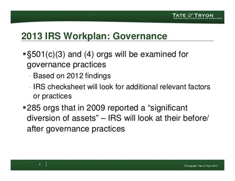 irs section 512 update to the irs form 990 2012