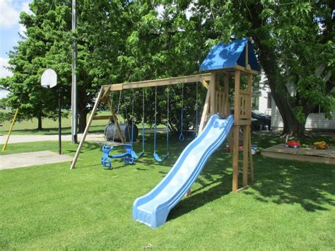 awesome swing sets 1000 images about play center swing set on pinterest