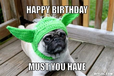 Birthday Pug Meme - http www folksdaily com wp content uploads 2014 09 happy