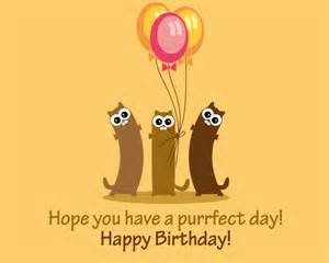 cute cats wishing you happy birthday free happy birthday