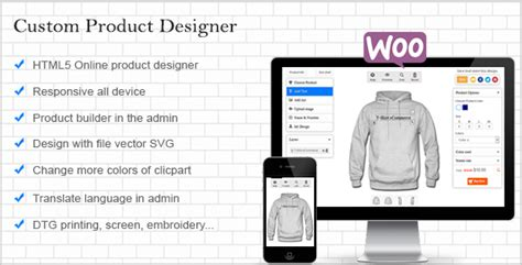 woocommerce custom product template woocommerce custom product designer codecanyon item for sale